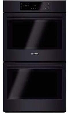 in black by bosch in denver co double wall oven 800 series black