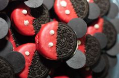 Josh's 3rd Mickey Mouse Clubhouse Birthday Party Mickey Oreos   Dessert and Sweets Ideas CatchMyParty.com