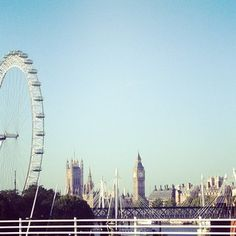 London you're looking mighty fine today! #topshoplondon #london #skyline
