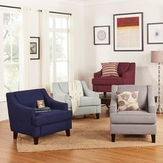 Nora Grey Accent Chair  Overstock Shopping  The Best Deals Delectable Overstock Living Room Chairs Design Inspiration
