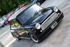 Classic Mini - not a VW but I love this car!