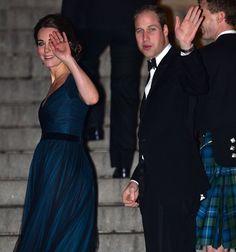 Pin for Later: Kate Middleton trägt ein Kleid zum dritten Mal auf