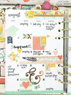 Creative Time in my Carpe Diem | Simple Stories