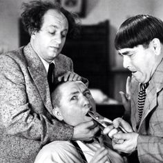 Moe, Larry, and Curly (aka, The Three Stooges (original))  How did you come up with the ideas for your shorts?  Did you draw straws in the beginning in order to figure out who would be what character?