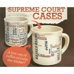 National Constitution Center - Official Online Store - Supreme Court Case Mug