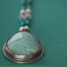 The Mermaid's Chrysoprase Necklace