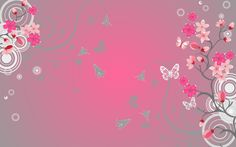 Pink Butterfly Wallpapers Hd For Desktop Wallpaper 1680 x 1050 px 530.05 KB red purple animated 3d orange heart pink purple