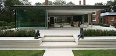 Shenfield Mill Contemporary Rear Extension Floating Roof | IQ Glass