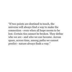maybe you and me are those points...just maybe