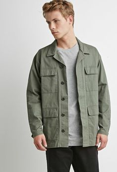 Classic Utility Jacket | 21 MEN    {For the record: I really like the black jacket!!!}