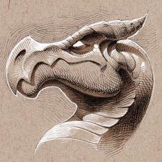 Geometric Mandala, Mandala Art, Pencil Art Drawings, Cartoon Drawings, Character Drawing, Character Design, Zbrush, Cartoon Dragon, Cartoon Monsters