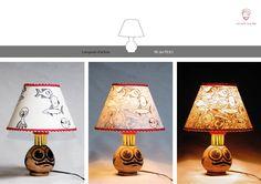 Lampada d'artista_RE DEI PESCI  (collezione privata)