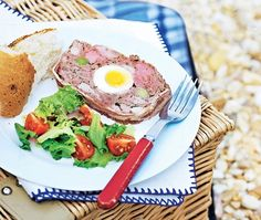 This really impressive meat & egg terrine recipe is actually simple and easy to make. Prepare it the day ahead and it's perfect for a picnic. Asda Recipes, Turkey Mince, Pork Fillet, Roasting Tins, Savoury Baking, Al Fresco Dining, Starters, Bacon, Eggs