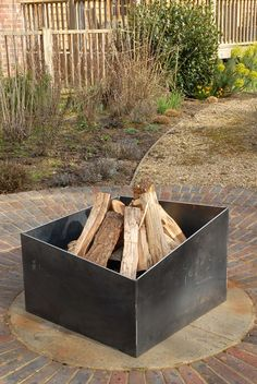 Basalt fire pit from magmafirepits, durable 5mm steel firepit