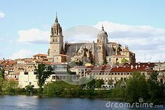 New cathedral in Salamanca Spain