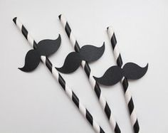 Canudos decorados - Bigode (kit com 10) Daddy Birthday, Adult Birthday Party, 2nd Birthday, 2nd Baby Showers, Baby Boy Shower, Mustache Party, Dad Day, Pizza Party, Little Man