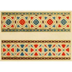 Ornamental designs by Fr Moises 1861-25 Canvas Art - (24 x 36)