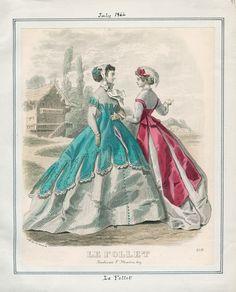 Le Follet: July 1, 1866
