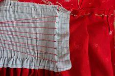 sewing galaxy: Den Dirndl Geheimnissen auf der Schliche, Teil 5 3d Fashion, Fashion Fabric, Womens Fashion, Sewing Hacks, Sewing Projects, Fabric Manipulation, Sewing Techniques, Pattern Fashion, Smocking