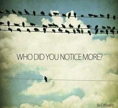 Who? Don't conform to society's mold, and you can change the world.