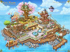 GGSCHOOL, Artist 김은지, Student Portfolio for game, 2D Scene Concept Art, www.ggschool.co.kr