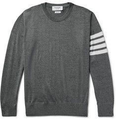 Thom BrowneStriped Wool Sweater