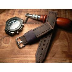 Handcrafted watch band