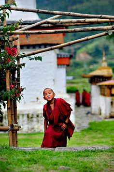 The enlightened child, Bhutan