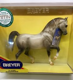 Reeves Breyer Traditional Fantasia Del C and Gozosa Horse Toy Model Set 1:9 Scale Breyer Int/'l 1777