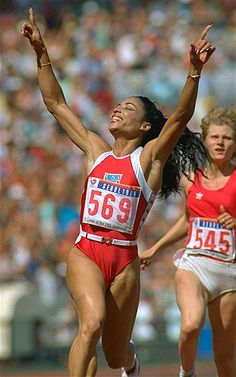 Florence Griffith-Joyner, 1988 Olympic Games, Seoul, S. Korea
