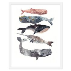 Check out this item at One Kings Lane! Michelle Morin, Five Whales