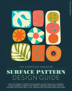 Motif Personnel: Edition numérique du Surface Pattern Design Guide édité par the Uppercase Magazine