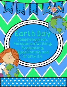 "Spring Activities for Earth Day from The Dirt Road Teacher on TeachersNotebook.com -  (55 pages)  -  Fun stories and informational texts are brought together to create a fun and effective way to help students understand recycling and protecting our environment. Students will love getting the chance to turn the tables and ""evaluate"" authors of"