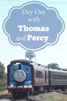 Day Out with Thomas and Percy.  DO your kids love trains?  Yeah, my kids didn't either, until this happened...