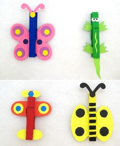 Les pinces à linge pense-bête, un bricolage facile à faire avec les enfants - Grandir avec Nathan                                                                                                                                                     Plus