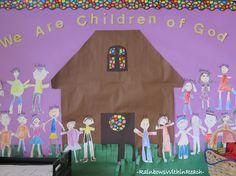 RainbowsWithinReach: Bulletin Boards, Walls + Classroom Doors