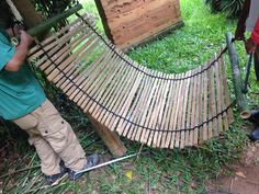 bamboo   hammock       diy bamboo hammock stand pictures                        pinterest   hammock      rh   pinterest