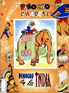 Pinocho (Personaje de ficción). Pinocho en la India / [Salvador Bartolozzi] (1960)