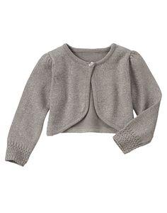 Sparkle Shrug Sweater at Gymboree #Holiday