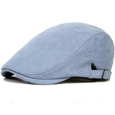c8f63f5eb2a HT752 Spring Summer Sun Hats for Men Classic Western Newsboy Caps Woman  Cotton Blend Ivy Caps Flat Brim Adjustable Men Beret Cap