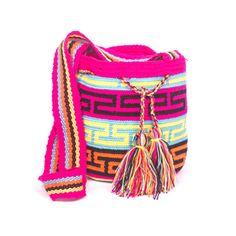 Wayuunaiki Mini Mochila 100% handcrafted Bags bys Wayuu Women Contact: wayuunaikibags@gmail.com