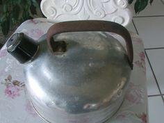 Weiteres - Alter Flötenkessel  Wasserkessel aus Aluminium - ein Designerstück von Manus-kleine-Vintage-Schatzkiste bei DaWanda