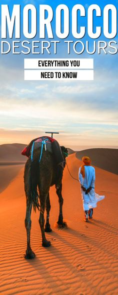 A Morocco desert tour is a must when you travel to Morocco. This Morocco guide to desert tours will give you everything you need to know while also providing some awesome Morocco travel inspiration get out there! What are you waiting for? Visit Morocco, Morocco Travel, Africa Travel, Africa Destinations, Travel Destinations, Holiday Destinations, Travel Trailer Insurance, Desert Tour, Prague Travel