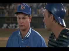 Bull Durham - probably the funniest scene in a film full of funny scenes.