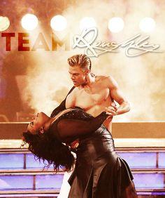 Week 8, Amber and Derek danced the Rumba!  #DWTS