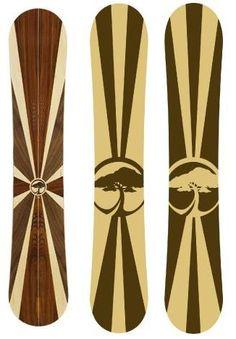 Wooden snowboards, yesssss!