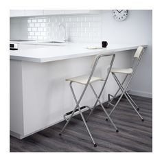 FRANKLIN Banco alto c/encosto, dobrável - 63 cm - IKEA