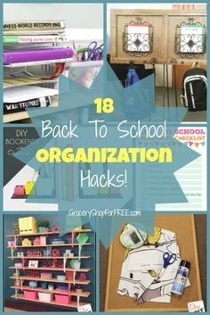 18 Back To School Organization Hacks!