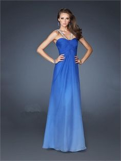 Unique A-line Beaded Sexy Open Back Chiffon Prom Dress PD11393 www.dresseshouse.co.uk $110.0000