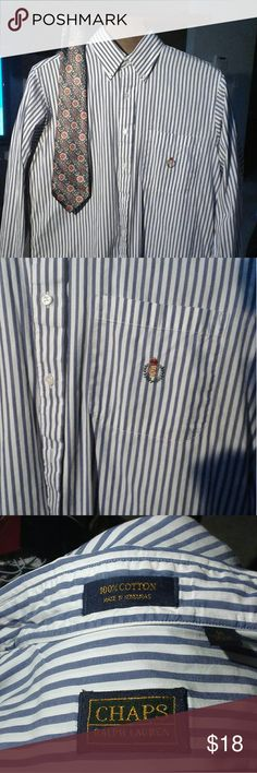 Ralph Lauren Chaps men's shirt 16\34 $18+free gift Ralph Lauren Chaps men's shirt 16\34  pretty good condition good no stains$18+free gift any item in this closet price$15 or less Ralph Lauren chaps Shirts Dress Shirts